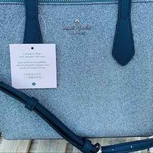 kate spade Bags - Kate spade Small Joeley Satchel glitter BRAND NEW